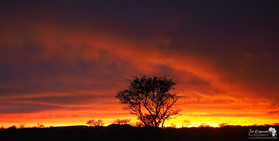 Brilliant sunset in Madiker