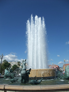 Place Massena in Nice, France.