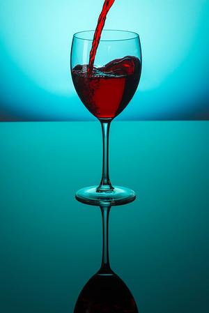 wine glass-print
