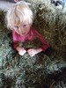 Child in Hay