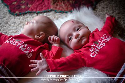 Twin Boys Newborn Session