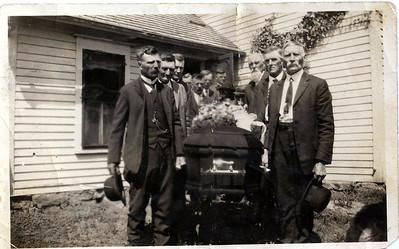 Grandpa John Halverson (Otto's father) Funeral