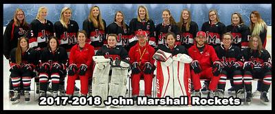 2017-2018 JM Rockets Team Photo 10X24