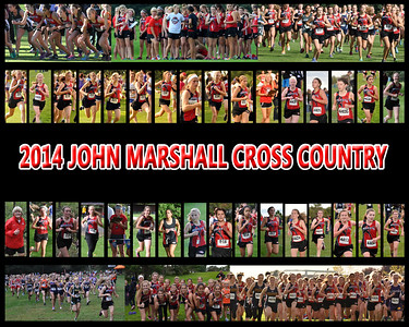 2014 JM Cross Country Final 16x20 Poster