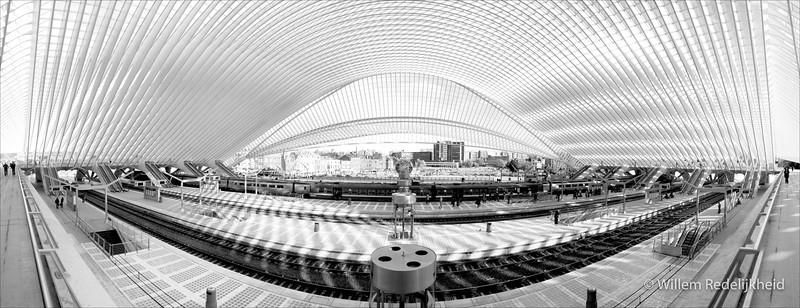Trainstation Liège-Guillemins