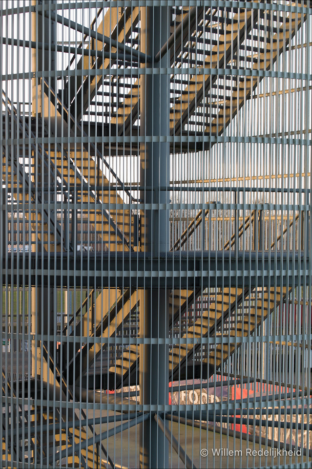 Caged Stairs