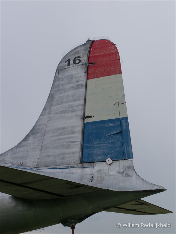 Tail of the Douglas C-54A Skymaster