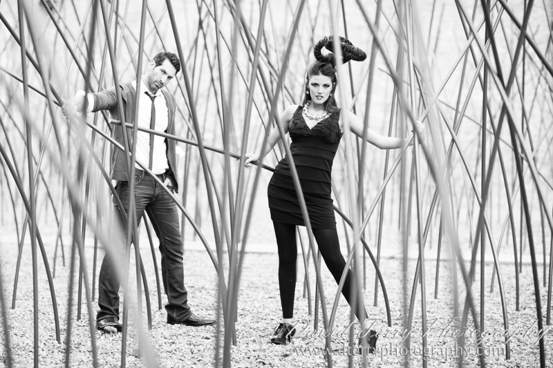Vogue Fashion Set with Christina Winn and Tim Weaver by David Terry Photography
