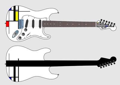 Mondrian Guitar