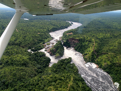 Murchison Falls by Air
