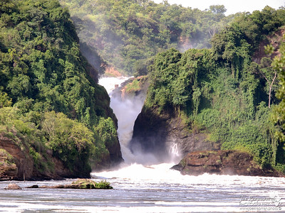 Murchison Falls from the Nile