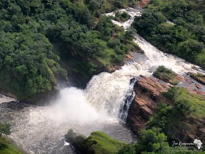 Murchison Falls overhead