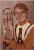 This is what marching band uniforms looked like in 1973-74.  This was a Titusville Astronaut High School uniform.