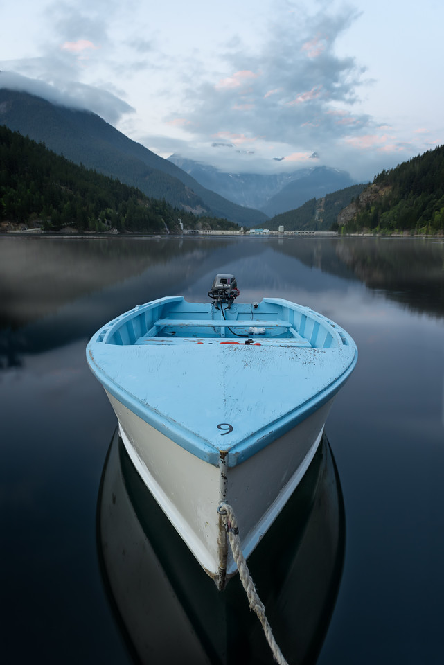 Lucky Blue Boat #9