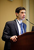 Tyler Gluckman speaks during Preconference: Patient Navigator