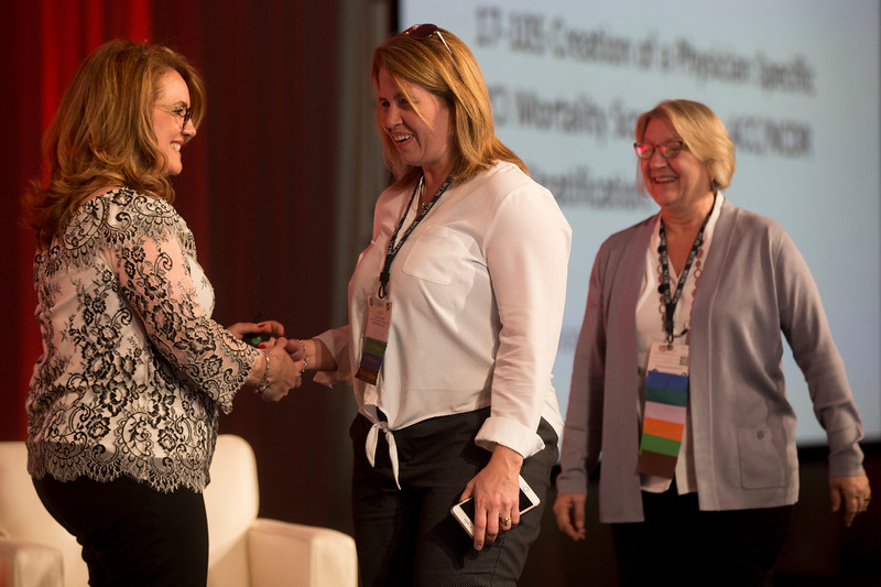 Poster award winners during General Session: Awards