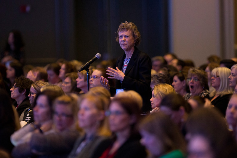 Candi Van Vleet speaks during General Session: NCDR Performance Improvement: The Power of Clinical Data