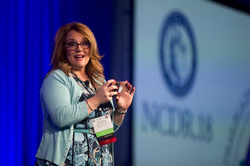 Kathleen Hewitt during Keynote Presentation