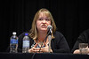 Panelists speak during Preconference: Patient Navigator