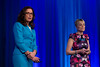 Barbara Christensen and Christina Koutras speak during General Session: NCDR Program Brief What's New, What's Different