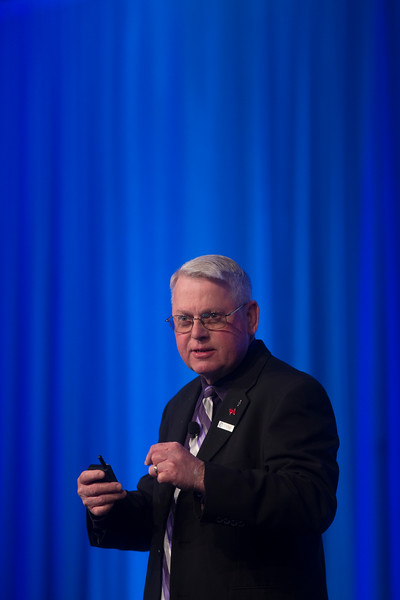 Jerry Caldwell speaks during General Session: NCDR Performance Improvement: The Power of Clinical Data