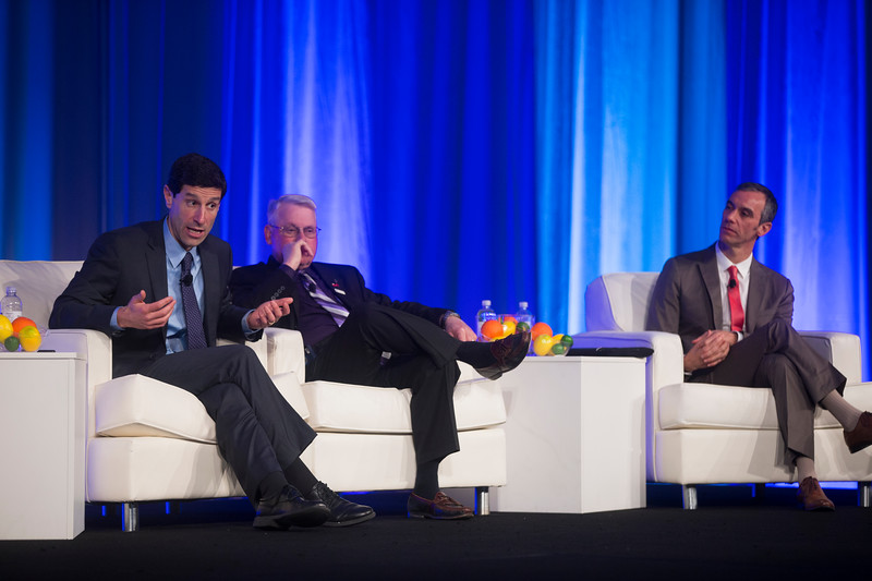 Panel answers questions during General Session: NCDR Performance Improvement: The Power of Clinical Data
