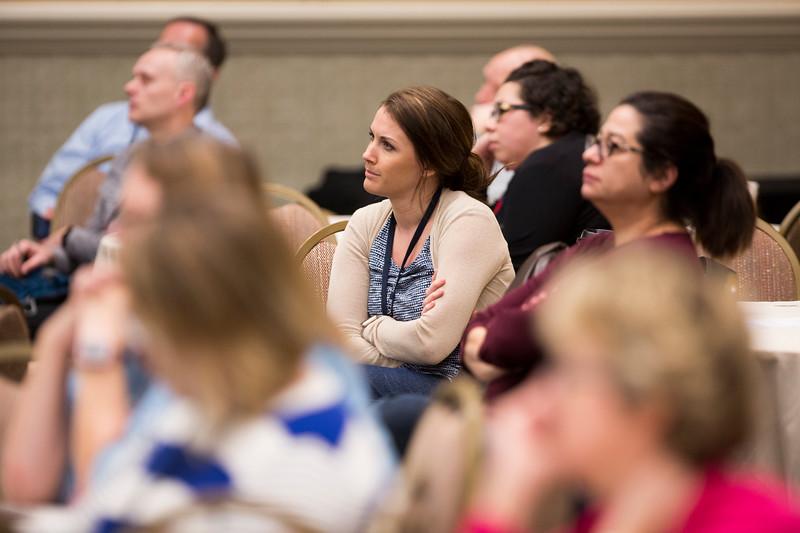 Attendees and speakers during Interprofessional Practice Workshop