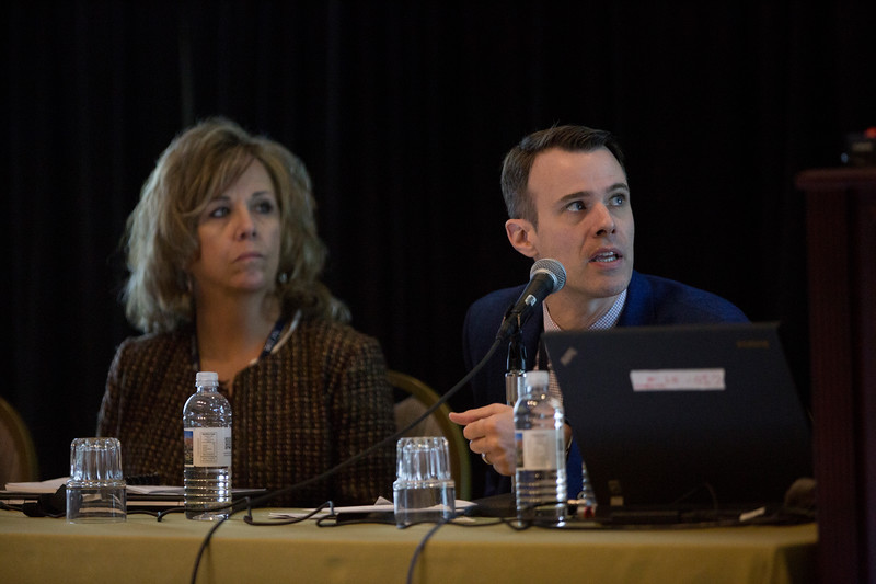 Attendees and speakers during ICD Registry Workshop