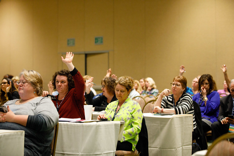 Attendees listen during Preconference: Patient Navigator