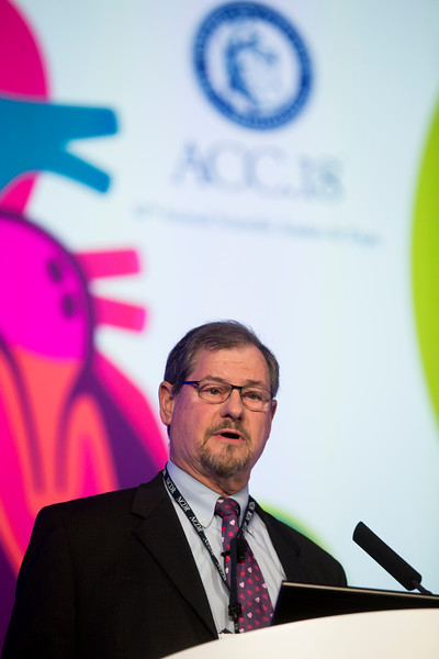 Ralph Brindis during Keynote Presentation