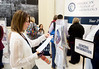 Attendees during breakout for posters, exhibits, and ACC Booth