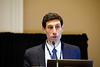 Tyler Gluckman speaks during Preconference: Patient Navigator