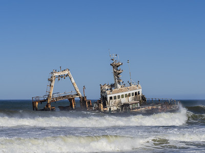 The Wreck of fishing trawler Zeila