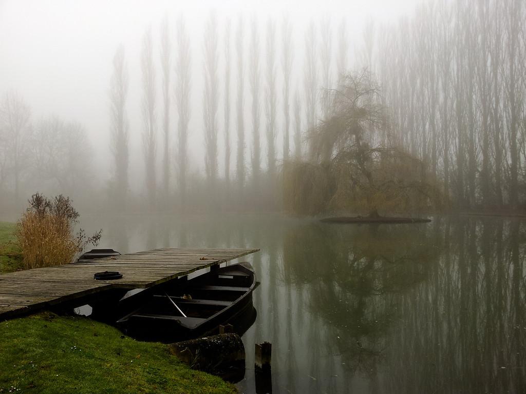 L'étang hanté