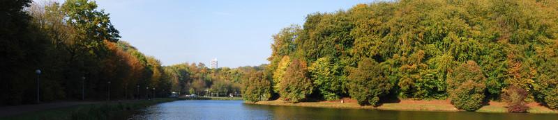 Panorama du lac de Lantéfontaine