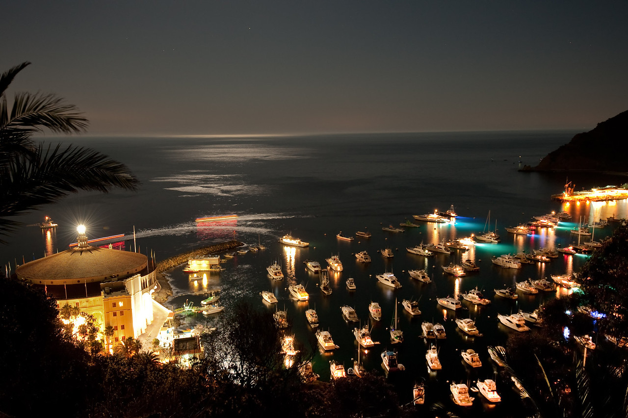 Avalon Bay on Catalina Island.