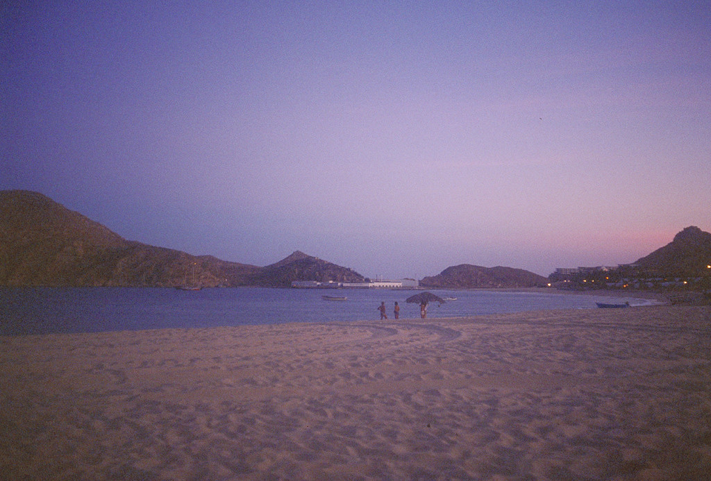 The sleepy little fishing village of Cabo San Lucas circa 1976.