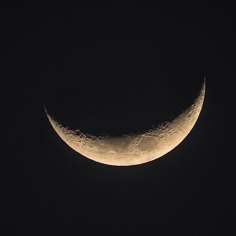 Hawaiin crescent moon