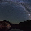 Milky Way over Diablo Lake