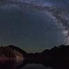 Milky Way over Diablo Lake