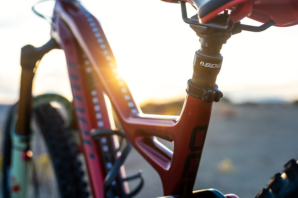 Kirt Voreis Niner Bikes WFO 9 RDO in Southwest Utah.