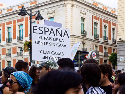 Spain: the country of people without homes and homes without people.