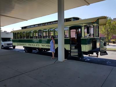 Hershey Trolley Bus