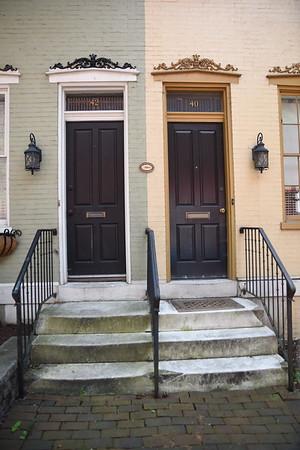1860's doorways