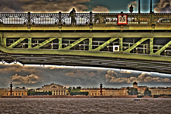 Bridge Over the Neva River #1
