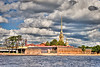 Peter & Paul Fortress and Cathedral from Neva River