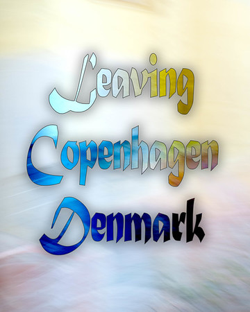 Leaving Copehagen