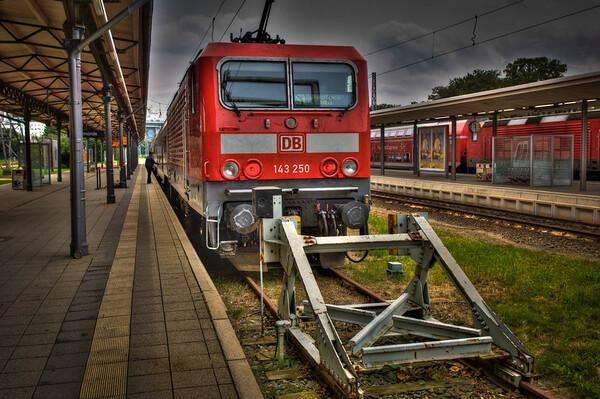 Warnemunde Train Station