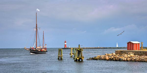Entering the Fishing Port