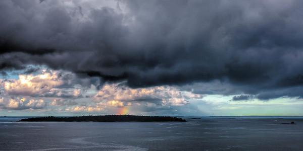 Rainbow in Helsinki Harbor